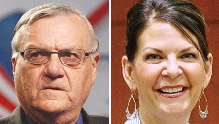 Joe Arpaio and Kelli Ward