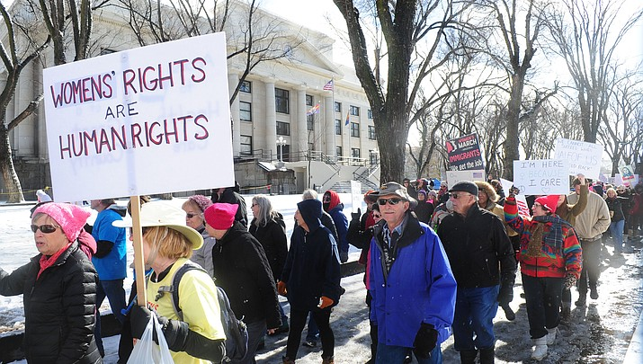 Second Women's March on Prescott is Jan. 20