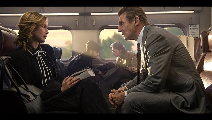 Liam Neeson rides again in 'The Commuter'