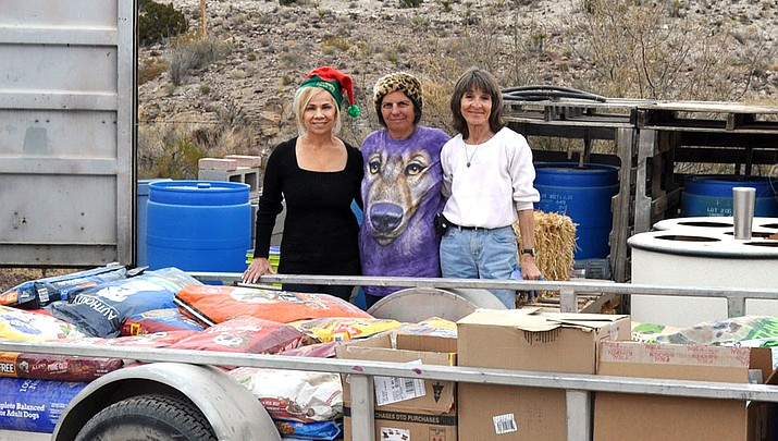 Kingman Photo   Donations for Luv of Paws and Toys for Tots over holiday season