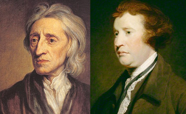 John Locke and Edmund Burke