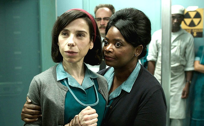 'The Shape of Water' has us rooting for the 'misfits' because they do 'fit' better than some of the other characters, and we care a lot about them.