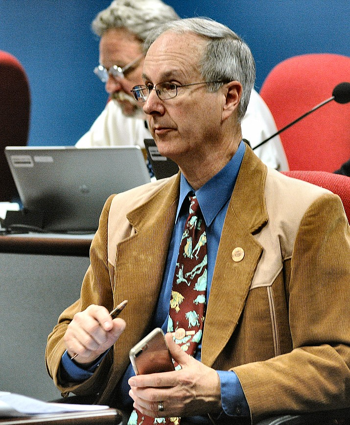 The proposal by Rep. Bob Thorpe, R-Flagstaff, would spell out that any records stored on the private cell phone, computer or social media of a public official or employee are not required to be disclosed.