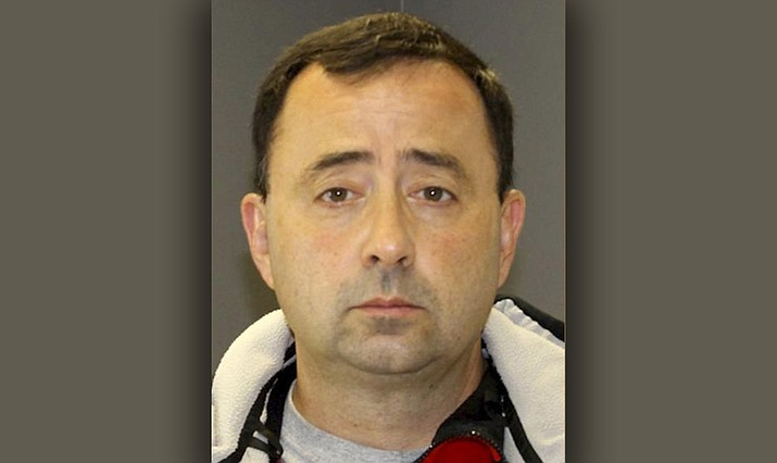 Former Michigan sports doctor Larry Nassar (Ingram County Sheriff's Office)