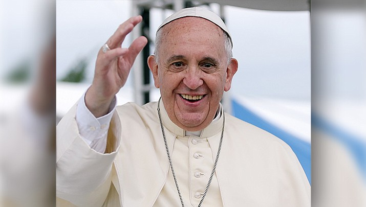 Pope Francis  flew in to Santiago, Chile Monday night, Jan. 15, 2018 for a visit expected to be met with protests over sexual abuse by priests and confronted by many Chileans deeply skeptical about the Roman Catholic Church. (File photo/CC 2.0 Korean Culture and Information Service, https://goo.gl/PxGuGK)