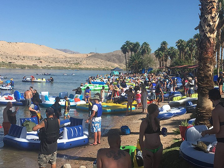 Despite a trash problem in the past, the River Regatta on the Colorado River between Bullhead City and Laughlin, Nevada is on the 2018 calendar after Tuesday's Mohave County Board of Supervisor's meeting. (Daily Miner File Photo)