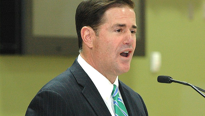 Despite no challengers - yet - Gov. Ducey has amassed $3 million in campaign war chest
