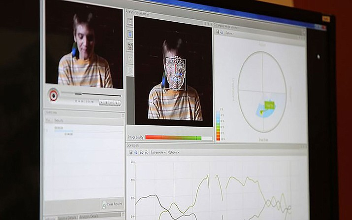 The Motivational Interviewing Laboratory on Arizona State University's Downtown Phoenix campus shows how facial recognition works in different ways.