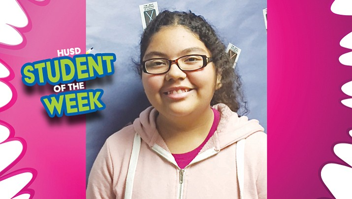 HUSD Student of the Week: Esmeralda Rodriguez