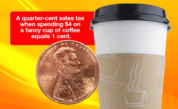 Jail Tax is equal to 1 cent on a $4 coffee.