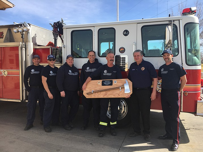 Prescott Fire captain retires after more than 30 years of service