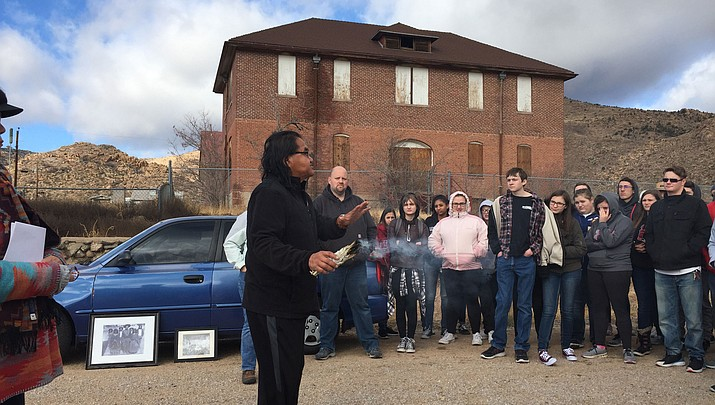 Lee Williams High School students connect with the past