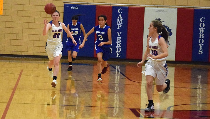 Camp Verde girls basketball records two more routs after rare loss