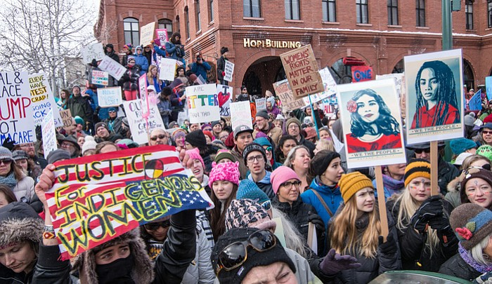WOMEN'S MARCH COMES TO SEDONA