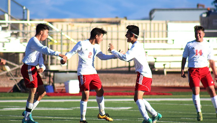 Mingus boys soccer comes back to beat Badgers 2-1