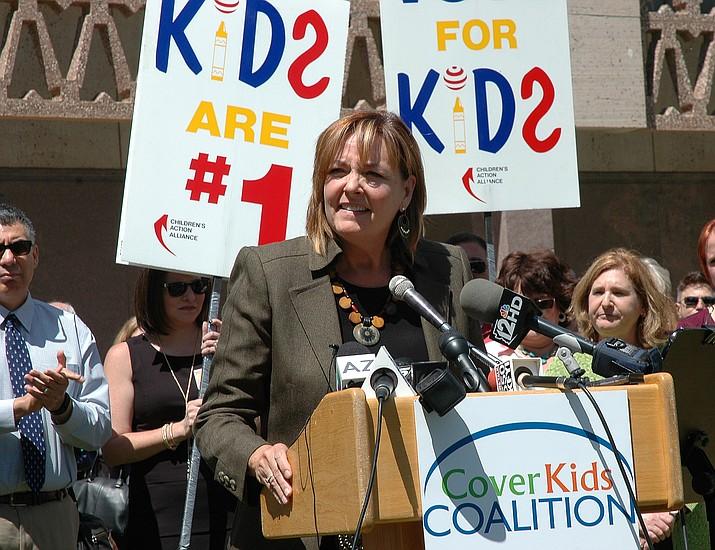 Rep. Regina Cobb, R-Kingman, sponsored a bill to preserve insurance benefits for children. (H. Fischer/Capitol News Svc.)