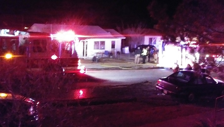 Two pets die in Clarkdale house fire