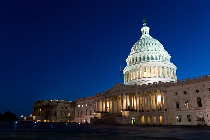 The fourth government shutdown in a quarter-century began at the stroke of midnight Friday, last gasp negotiations crumbling when Senate Democrats blocked a four-week budget extension. (Stock file photo)