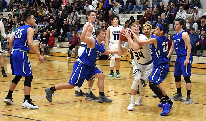 Camp Verde basketball hosts rival Sedona Red Rock on Thursday at 5:30 p.m. and 7 p.m. (VVN/James Kelley)