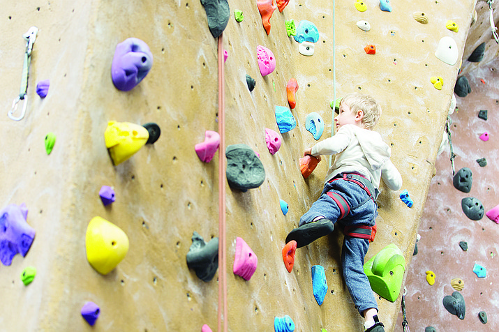 Gripstone Climbing Gym is fun and physically challenging at the same time. (Stock Image)