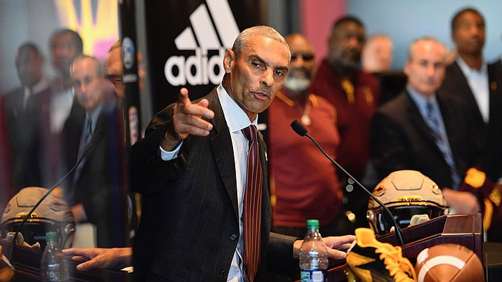 "Herm Edwards, who was introduced as ASU football coach Dec. 4, usually starts his day around 4 a.m. so that he has time for a 90-minute-plus workout. Edwards knows people think he's been away from the game too long, but he feels ""every coach should just step away for a while."""