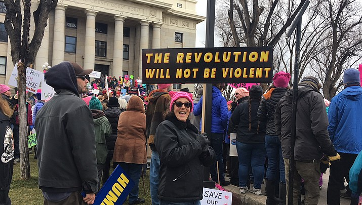Women's March: More than 1,100 march — for many reasons —  in downtown Prescott
