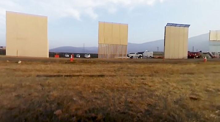 Border wall prototypes