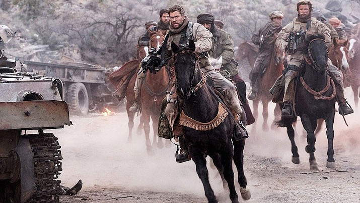 Stellar cast, excellent story, '12 Strong' still dropped the ball