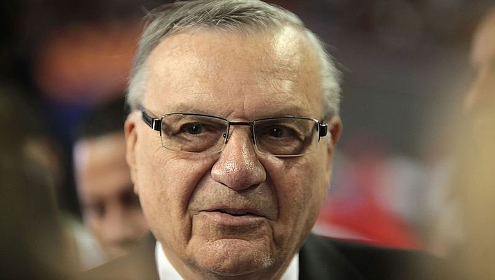 Arpaio lawyers file opening brief to have conviction erased