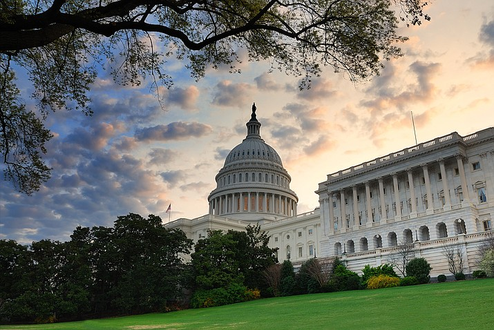 Both the House and Senate voted to reopen the government Monday. (Adobe Images)