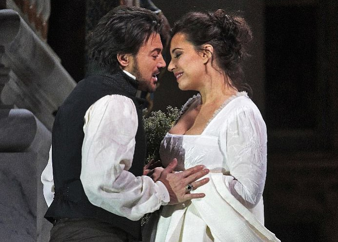 "Rivaling the splendor of Franco Zeffirelli's set and costumes of the Napoleonic era, Sir David McVicar's ravishing new production of ""Tosca"" offers a splendid backdrop for the extraordinary soprano Sonya Yoncheva in the title role of the jealous prima donna."