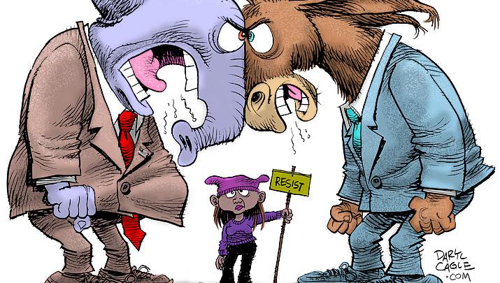 Editorial cartoon   Jan. 23