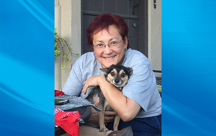 Yvonne Trujillo plans to volunteer at the Petite Pet Project, where she adopted Bernie in 2015.