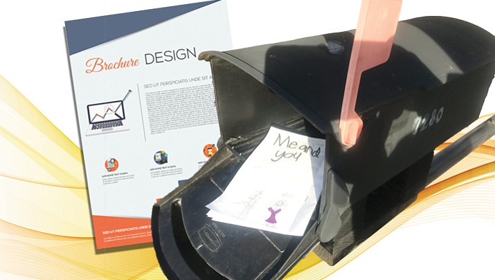 It is illegal to put non-stamped items into a mailbox