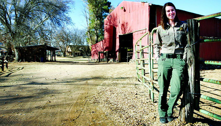 After 11 months at Jerome State Historic Park, Courtney Bartlett has taken over as park manager at Rockin' River Ranch State Park.