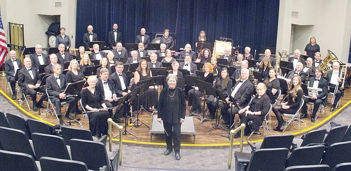 The Central Arizona Concert Band. (Central Arizona Concert Band/Courtesy)