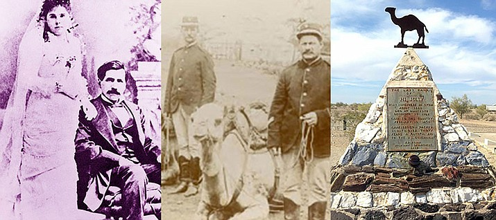 Historical photos of Hadji Ali, a camel driver also known as Hi Jolly, will be part of the Sounds of Kingman history series at 2 p.m. Saturday at Mohave Museum of History and Arts. His gravesite is located in Quartzite.