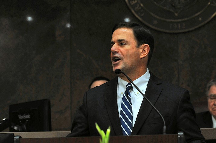 Gov. Doug Ducey (Howard Fischer/Capitol Media Services, file}