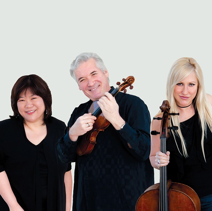 The Zukerman Trio will perform at the Sedona Performing Arts Center at 2:30 p.m. Feb. 4.
