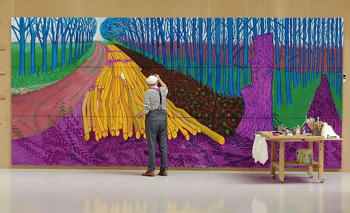 Widely considered Britain's most popular artist, David Hockney is a global sensation with exhibitions in London, New York, Paris and beyond attracting millions of visitors worldwide.