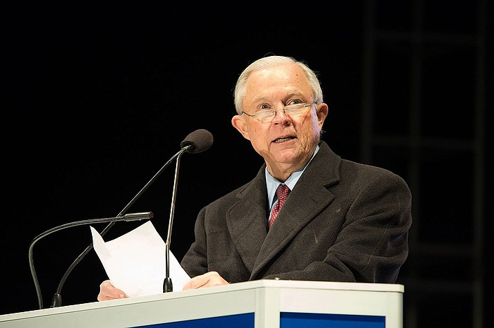 Attorney General Jeff Sessions will soon mark his first year as the nation's chief law enforcement officer. That comes even after a year that included a barrage of insults from President Donald Trump, antipathy from some of his own employees and even some calls from his fellow Republicans to resign. (United States Department of Justice, file)