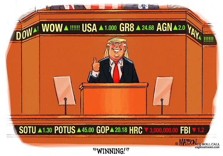 Editorial cartoon 2: Jan. 30, 2018
