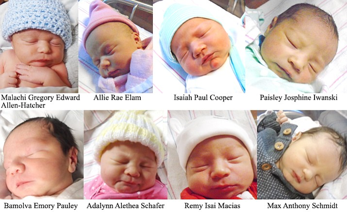 Girls and boys recently born in Yavapai County.