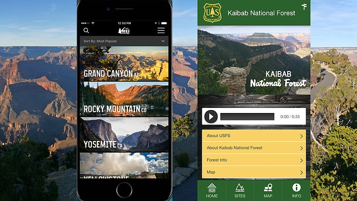 Travelers to northern Arizona can benefit from several apps and websites for planning.