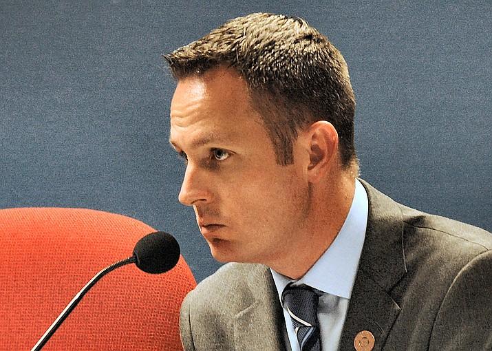 Arizona State Rep. Travis Grantham, R-Gilbert (Howard Fischer/Capital News Services)