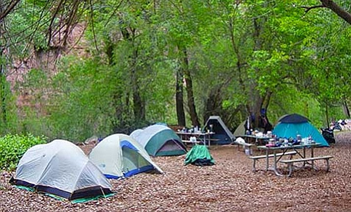 There are 300 campsites at Havasupai Campground. The tribe will begin taking reservations Feb. 1.