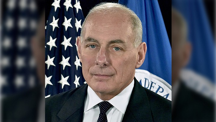 White House Chief of Staff John Kelly (Whitehouse photo)