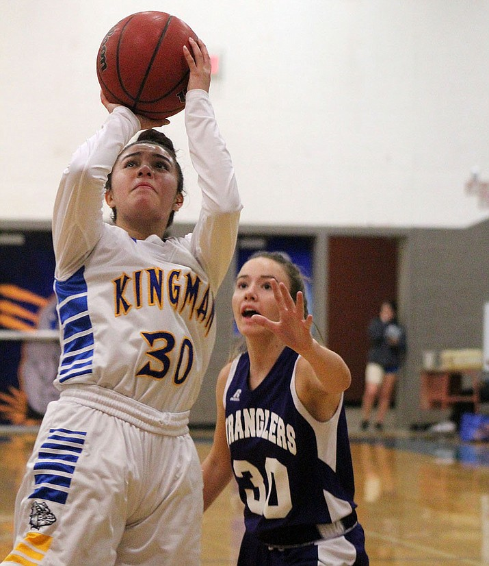 Sukwana Quasula finished with nine points in Kingman's 52-25 loss Tuesday night to Wickenburg.