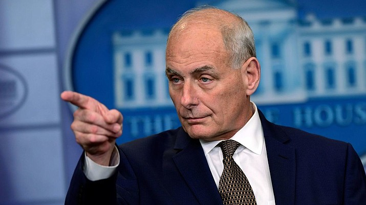 White House Chief of Staff John Kelly (Susan Walsh / Associated Press)