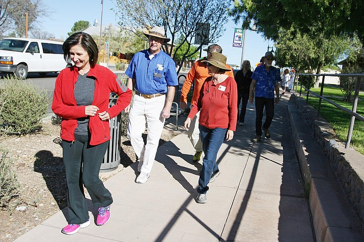 Camp Verde's March-a-Mile for Meals will be held on Saturday, March 24 at the Main Street gazebo between Parks & Recreation and the Camp Verde Historical Society. (Photo by Bill Helm)